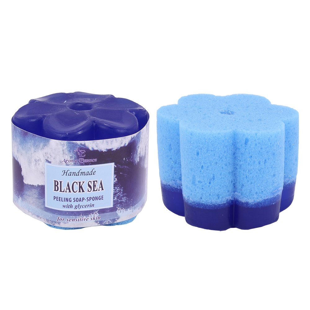 "Peeling soap – sponge ""Black Sea"", 70g."
