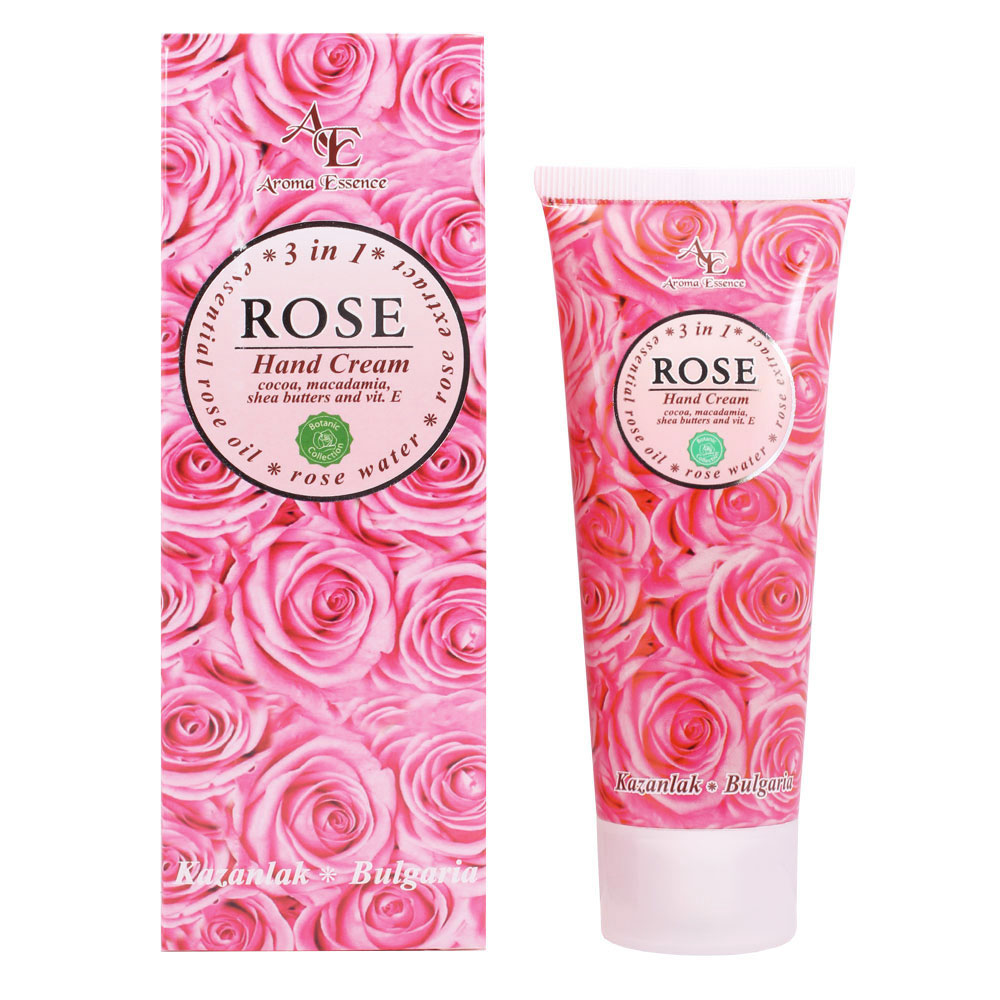 "Hand cream ""ROSE"" – 3 in 1, 75ml."