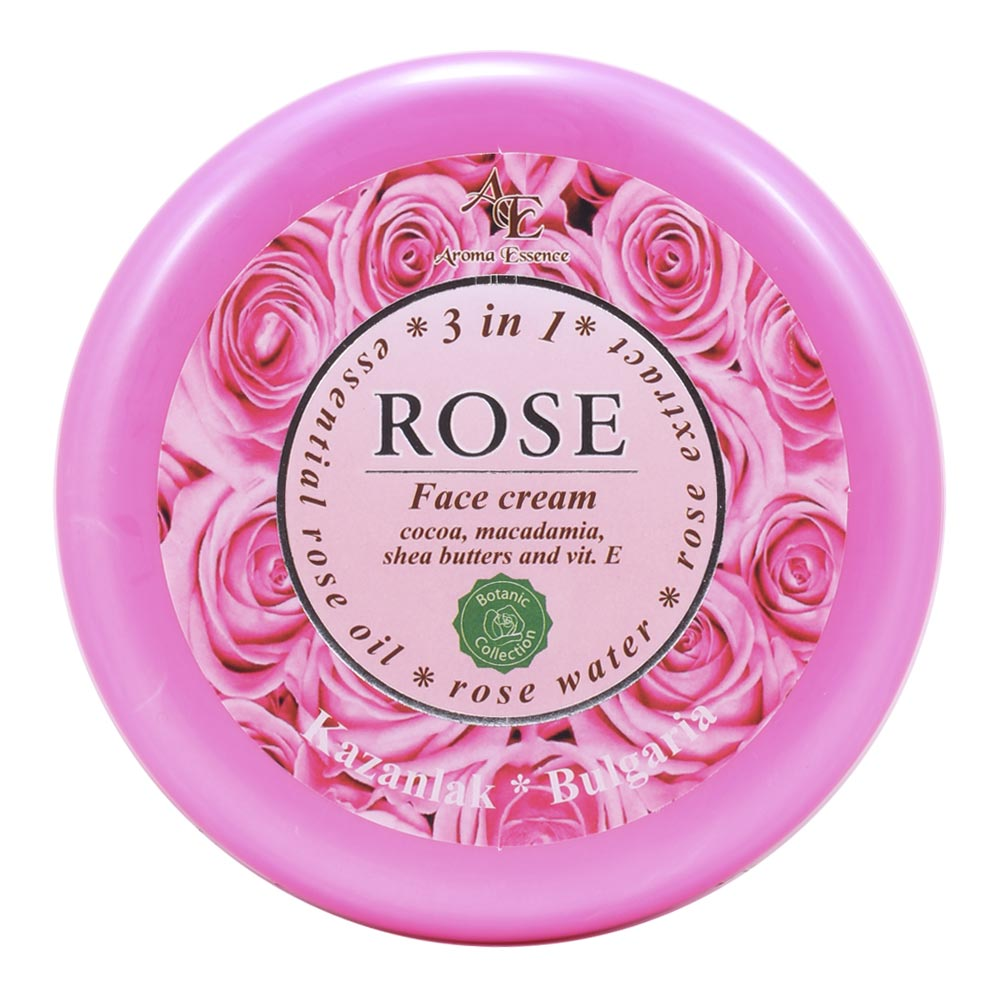 "Face cream ""ROSE"" – 3 in 1, 150ml."
