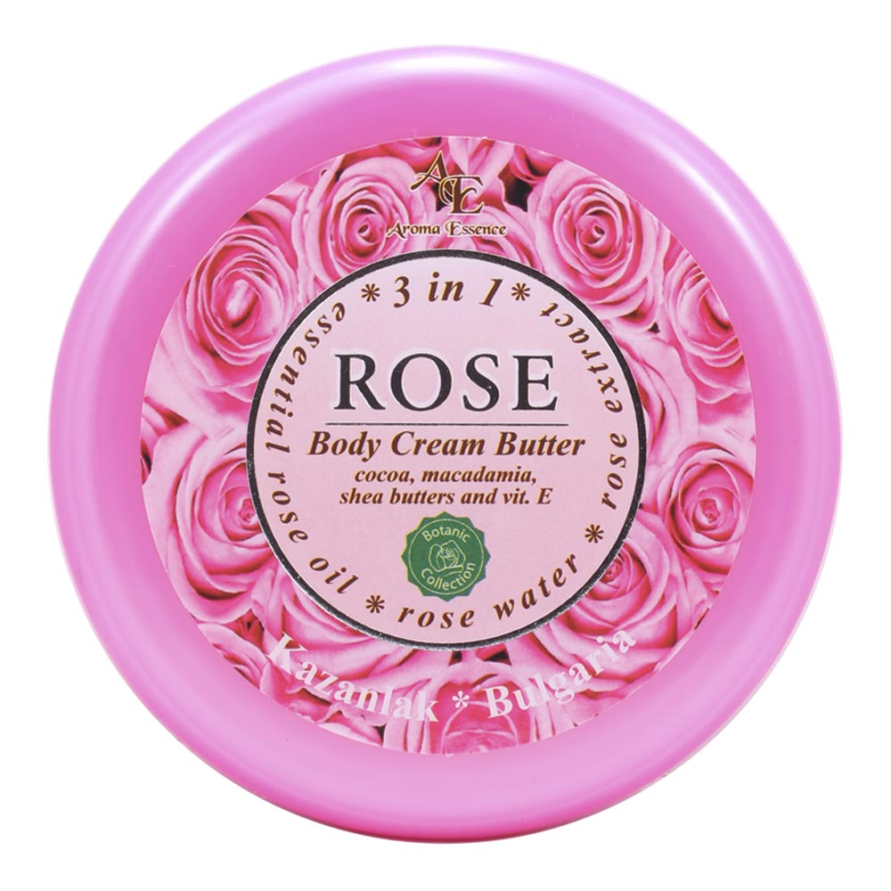 "Body Cream Butter ""ROSE"" – 3 in 1, 250ml."