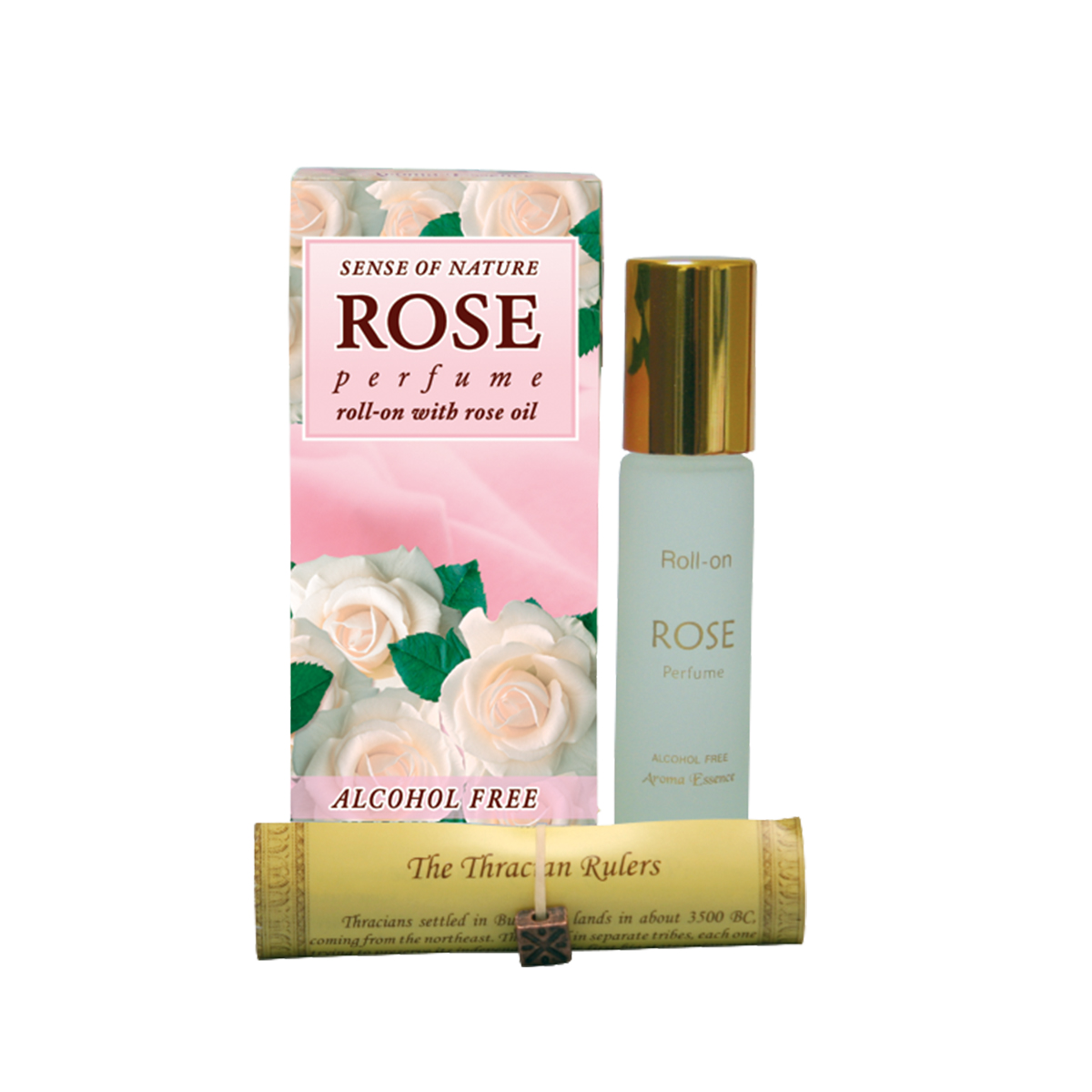 "Alcohol-free perfume roll-on "" WHITE Rose"" - 8 ml."